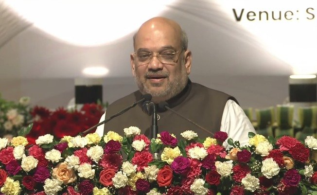 HM Amit Shah lays foundation stone of 430 bedded Tamulpur Medical